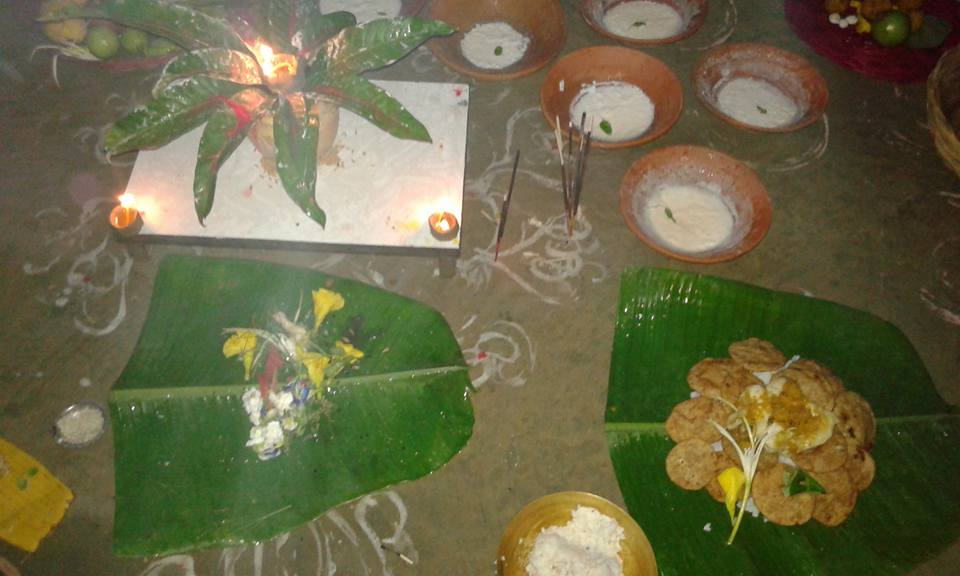 Image result for mithila chaurchan puja